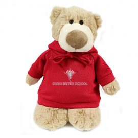 Dubai British School Bear Mascot – 28CM