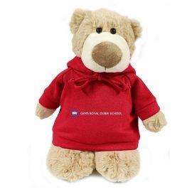 Gems Royal Dubai School Bear Mascot – 28CM