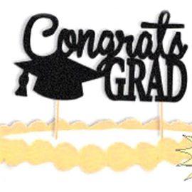 Congrats Grad Cake Topper
