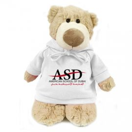 American School of Dubai Bear Mascot – 28CM